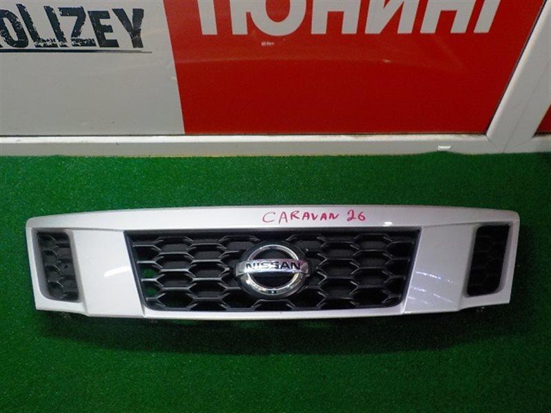 Решетка радиатора Nissan Caravan E26 (б/у)