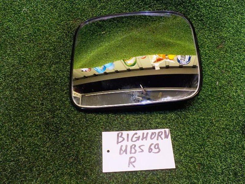 Зеркало-полотно Isuzu Bighorn UBS69 правое (б/у)