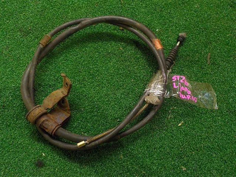Тросик ручника Toyota Caldina ST246 левый (б/у)