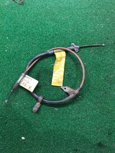 Тросик ручника Toyota Granvia VCH16 правый (б/у)