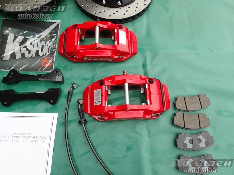 Тормозная система Nissan Skyline V35 задняя