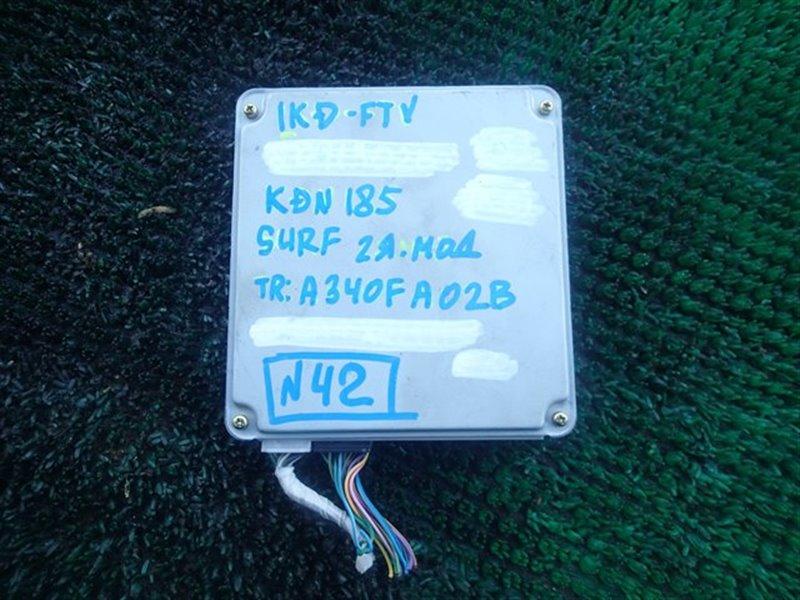 Блок efi Toyota Surf KDN185 1KD-FTV (б/у)