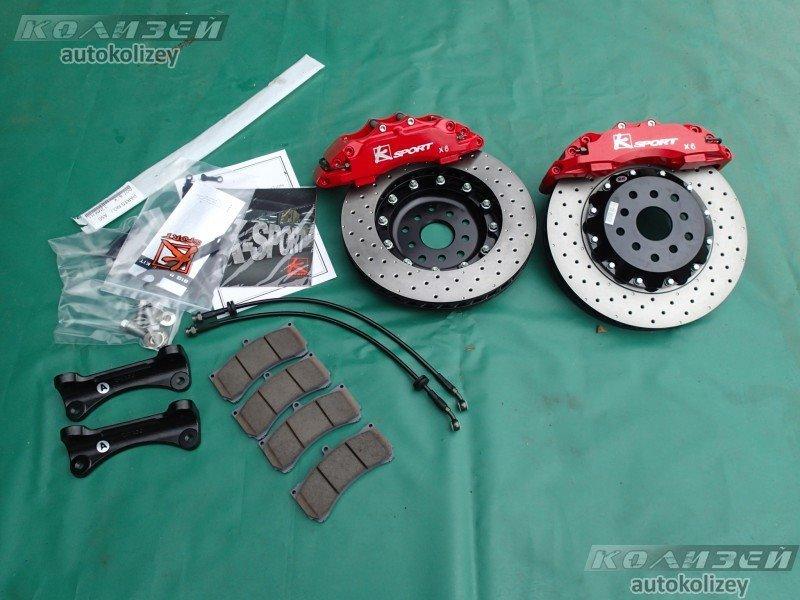 Тормозная система Toyota Wish ZNE10 1ZZ-FE передняя