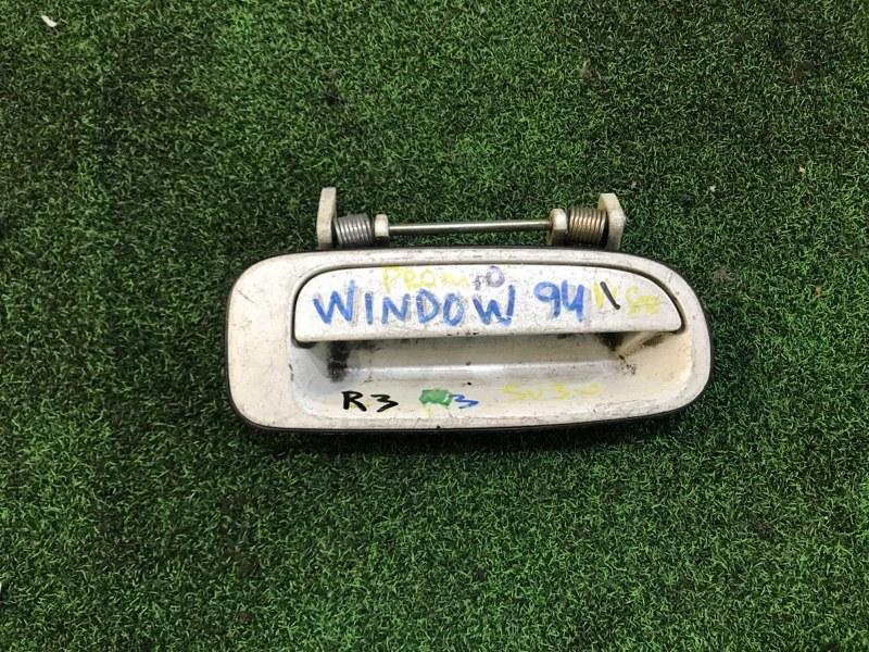 Ручка двери внешняя Toyota Windom VZV10 задняя правая (б/у)