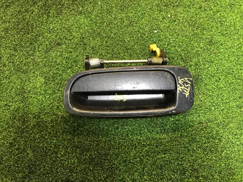 Ручка двери внешняя Toyota Vista SV35 задняя левая (б/у)