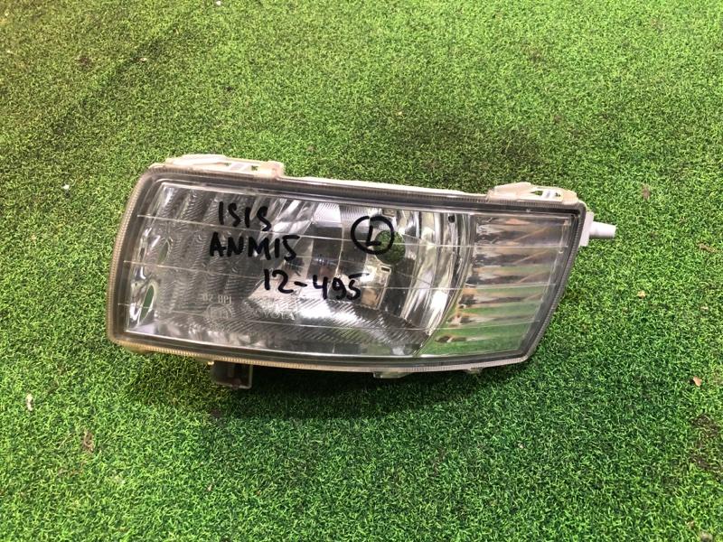 Туманка Toyota Isis ANM15 левая (б/у)