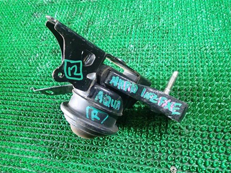 Подушка двс Toyota Aqua NHP10 1NZ-FXE правая (б/у)