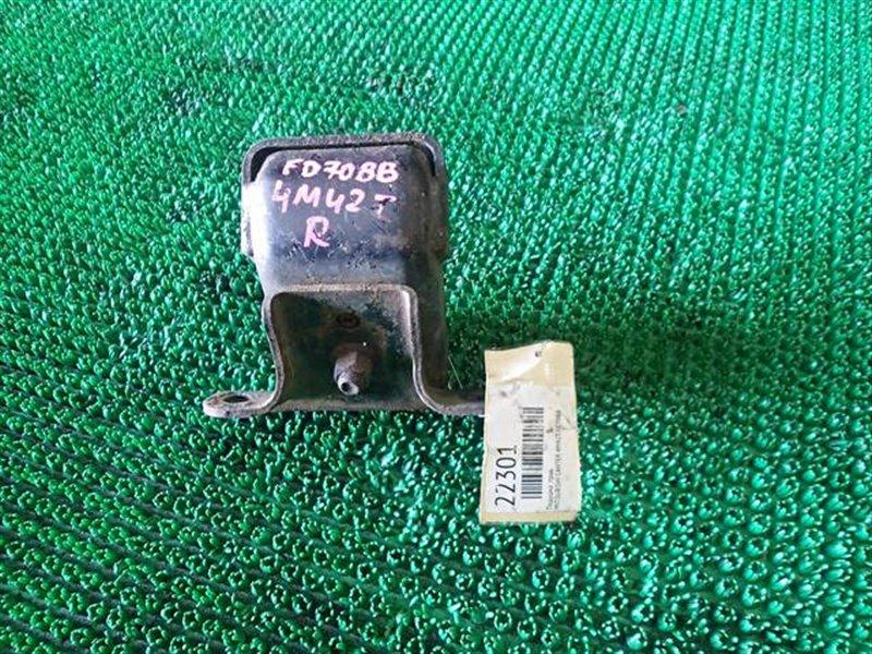 Подушка двс Mitsubishi Canter FD70BB 4M42 правая (б/у)