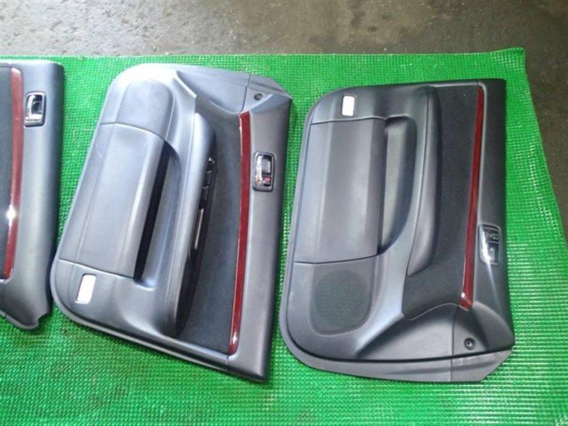 Обшивка дверей Toyota Mark Ii JZX110 1JZ-GTE (б/у)