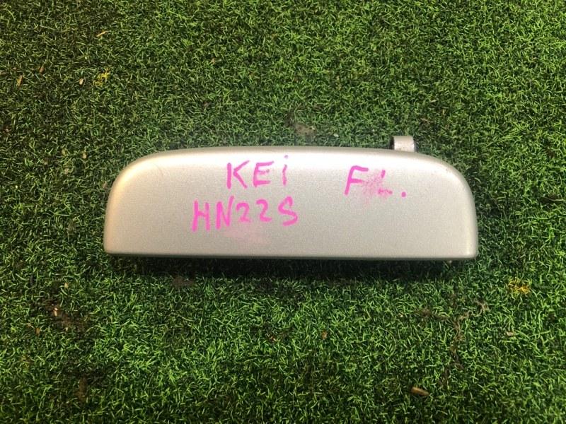 Ручка двери внешняя Suzuki Kei HN21S передняя левая (б/у)