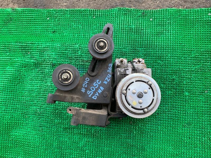 Компрессор кондиционера Toyota Dyna XZU362 S05C (б/у)