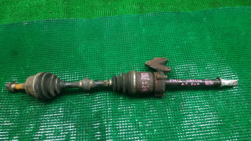Привод Nissan Liberty PM12 SR20-DE передний правый (б/у)