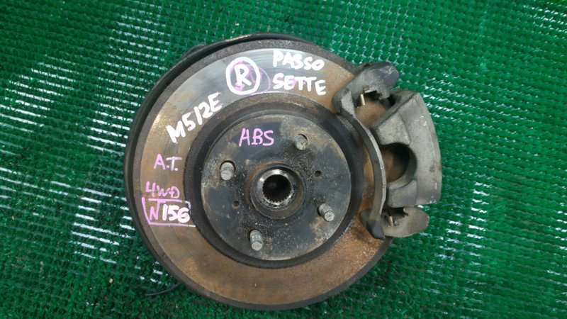 Ступица Toyota Passo Sette M512E передняя правая (б/у)