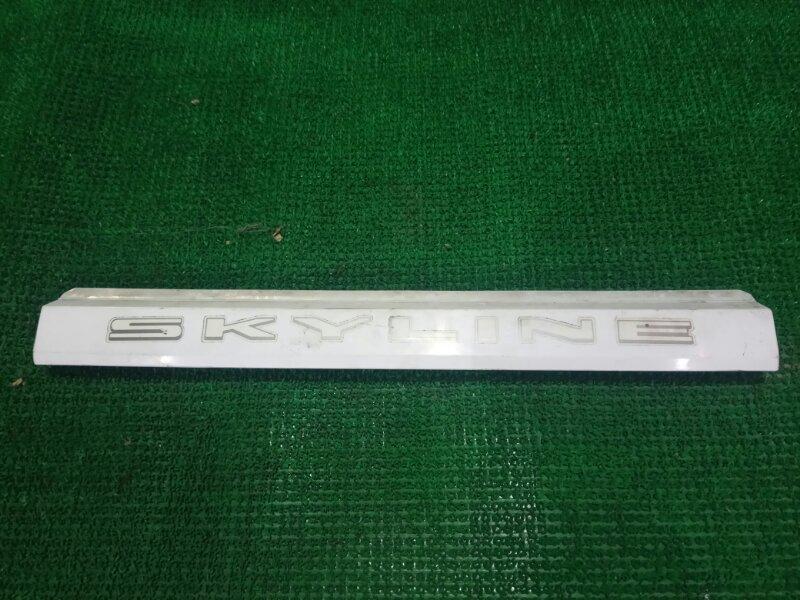 Планка задняя Nissan Skyline R31 задняя (б/у)