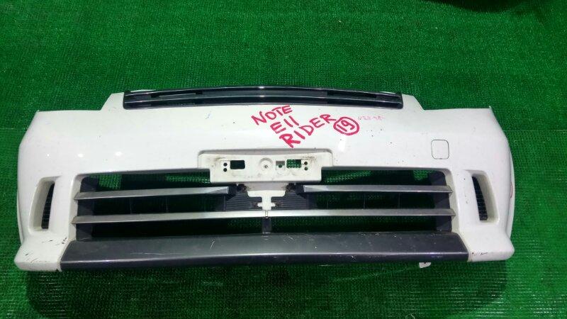 Бампер Nissan Note E11 передний (б/у)
