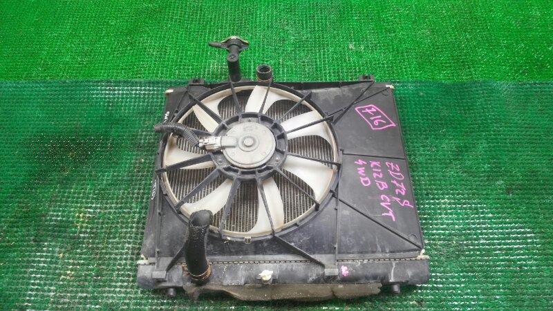 Радиатор Suzuki Swift ZD72S K12B (б/у)