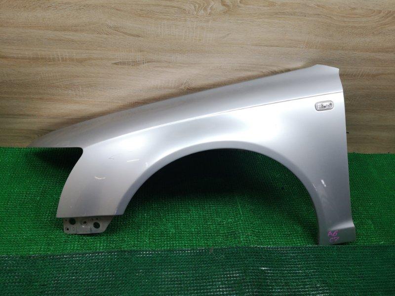 Крыло Audi A6 C6 AUK 3.2 переднее левое (б/у)