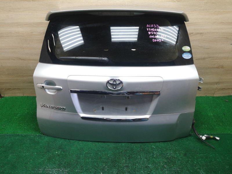 Дверь 5-я Toyota Vanguard ACA33 2009 (б/у)