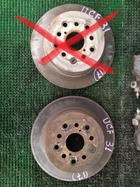 Тормозной диск Toyota Celsior UCF31 задний (б/у)