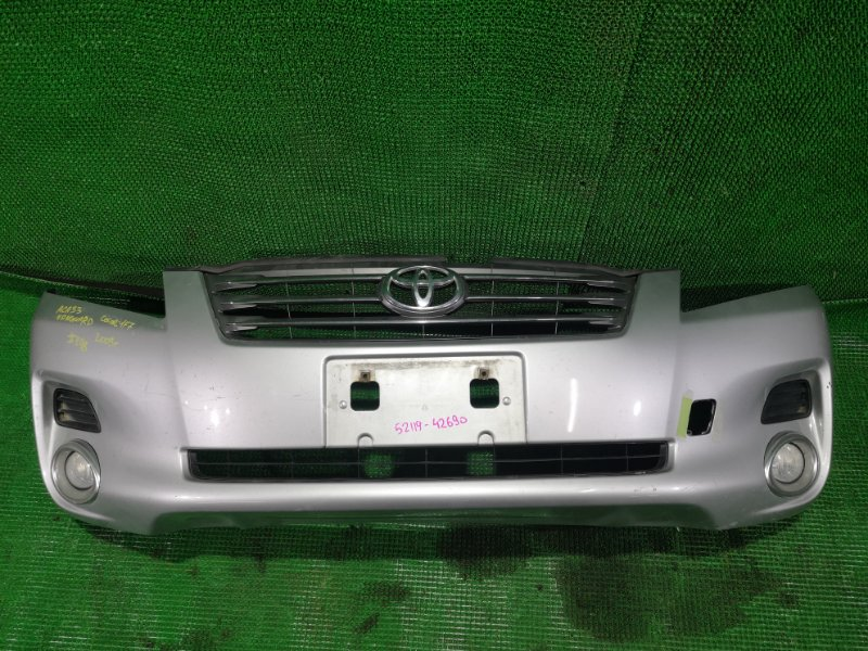Бампер Toyota Vanguard ACA33 2009 передний (б/у)