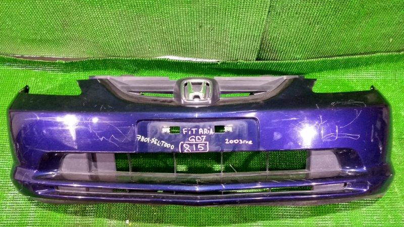 Бампер Honda Fit Aria GD7 2003 передний (б/у)