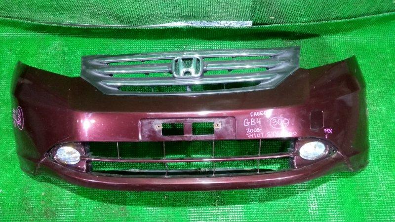 Бампер Honda Freed GB4 2008 передний (б/у)