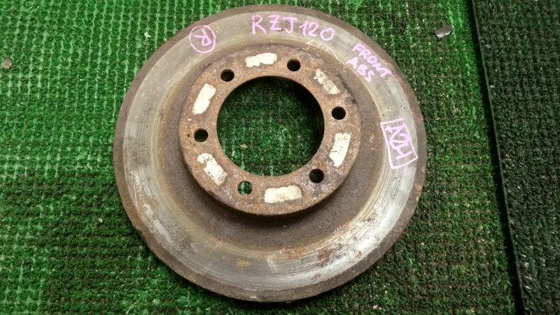 Тормозной диск Toyota Prado RZJ120 3RZ-FE 2002 передний правый (б/у)