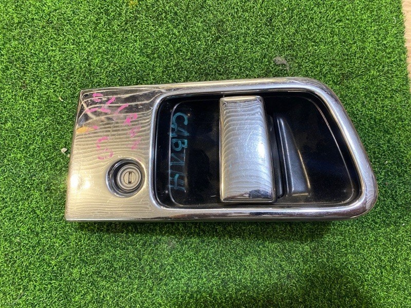 Ручка двери внешняя Nissan Elgrand E50 задняя левая (б/у)