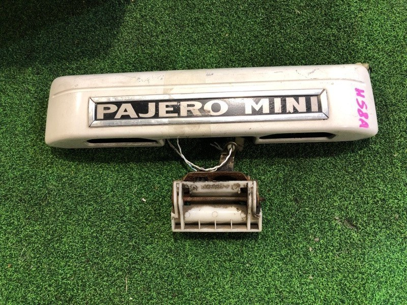 Ручка задней двери Mitsubishi Pajero Mini H58A (б/у)