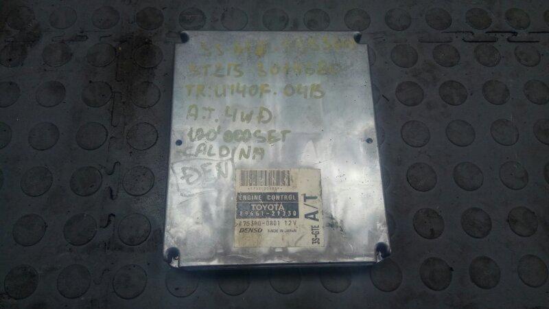 Блок efi Toyota Caldina ST215 3S-GTE (б/у)