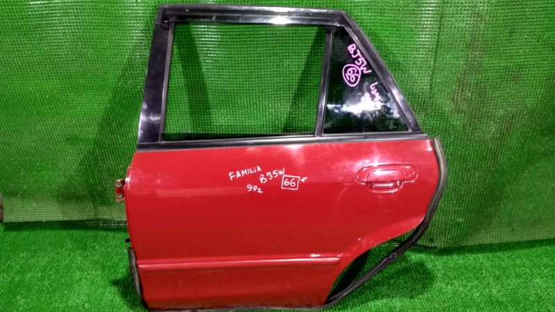 Дверь Mazda Familia BJ5W 1999 задняя левая (б/у)
