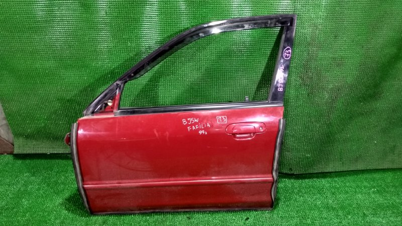 Дверь Mazda Familia BJ5W 1999 передняя левая (б/у)