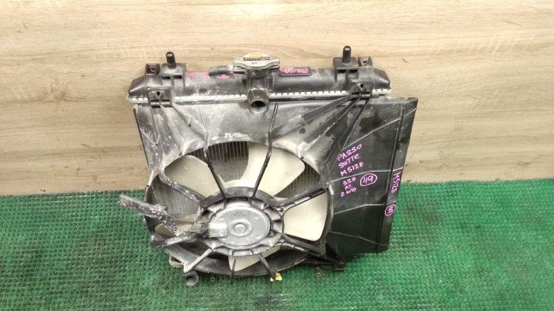 Радиатор Toyota Passo Sette M512E 3SZ-VE (б/у)