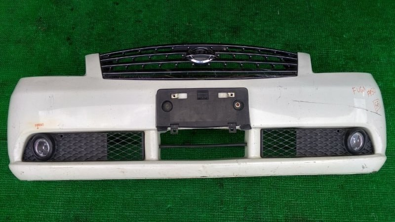 Бампер Nissan Fuga PY50 передний (б/у)