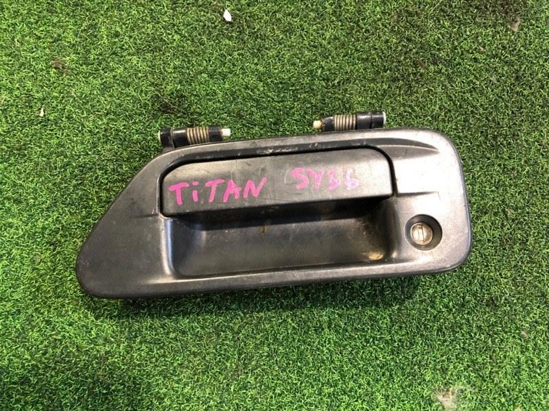 Ручка двери внешняя Mazda Titan SY56 передняя левая (б/у)