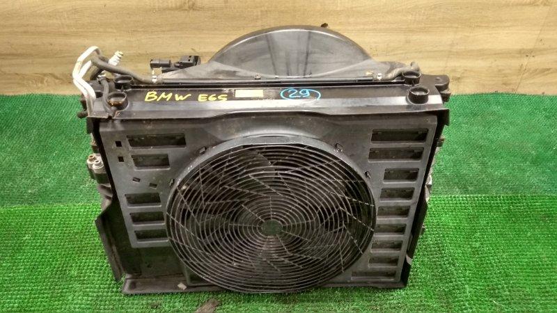 Радиатор Bmw E65 N62B44 (б/у)