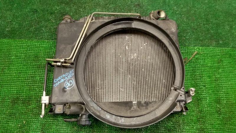 Радиатор Chevrolet Trailblazer LL8 2003 (б/у)