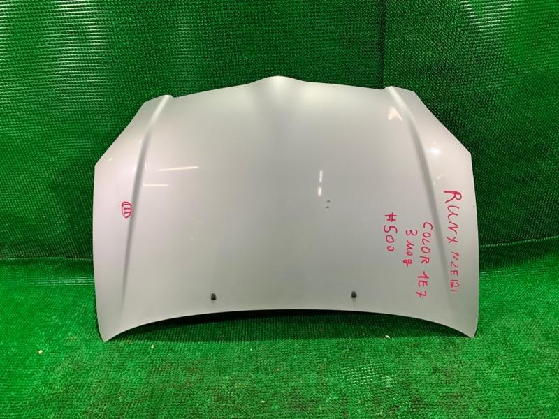 Капот Toyota Runx NZE121 1NZ-FE (б/у)