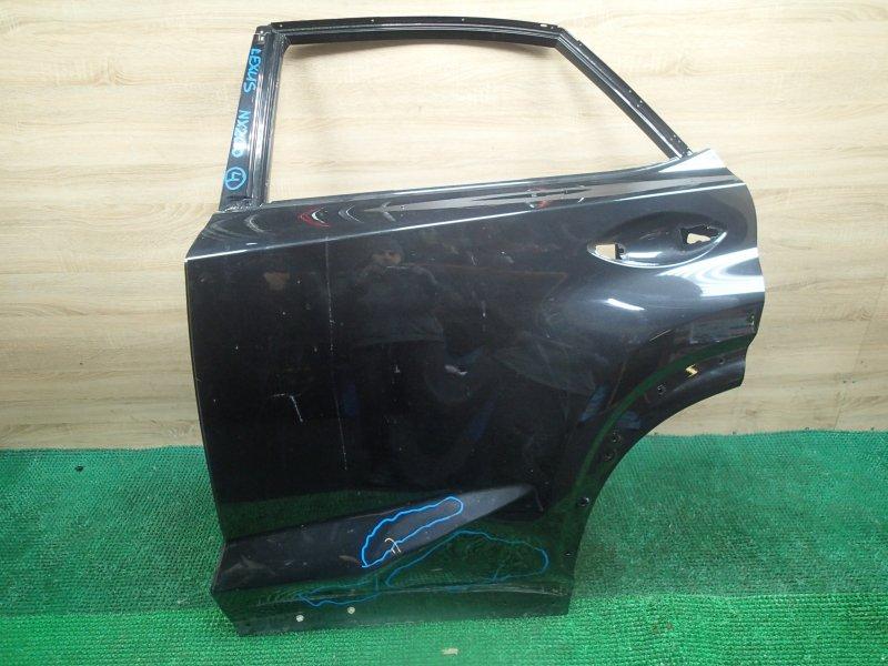 Дверь Lexus Nx200 ZGZ15 задняя левая (б/у)