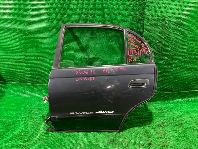 Дверь Toyota Corona ST195 3S-FE 1995 задняя левая (б/у)
