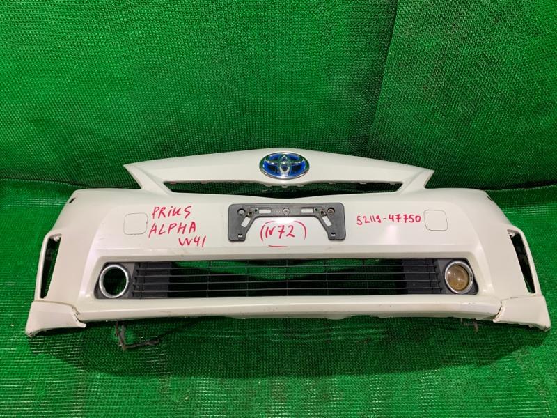 Бампер Toyota Prius Alpha ZVW41 передний (б/у)