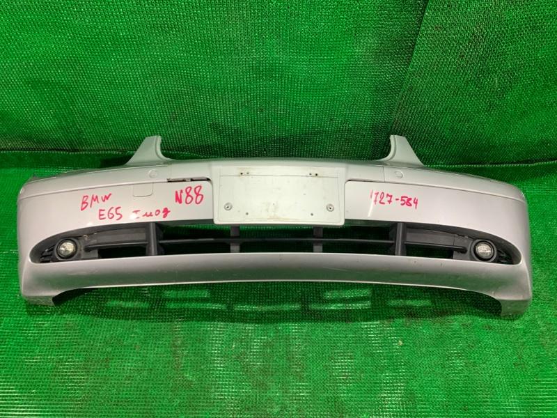Бампер Bmw E65 WBAGL62030DJ92574 N62B44 передний (б/у)