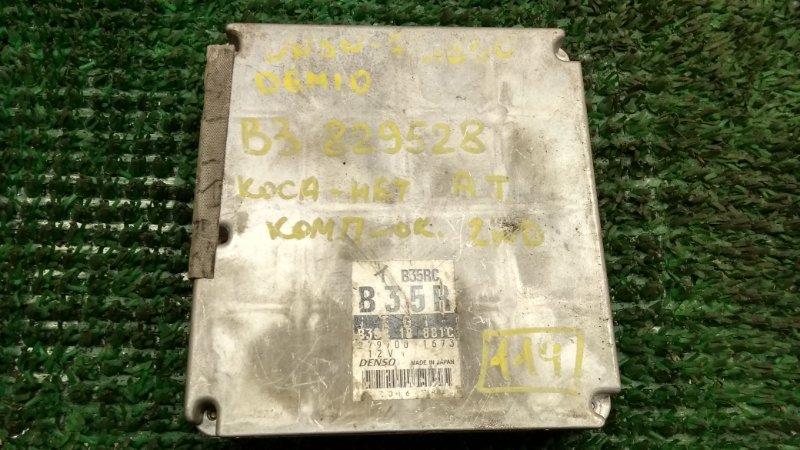 Блок efi Mazda Demio DW3W B3 (б/у)