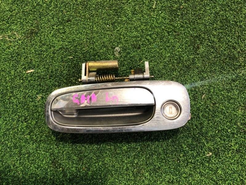 Ручка двери внешняя Toyota Gaia SXM`15 передняя левая (б/у)