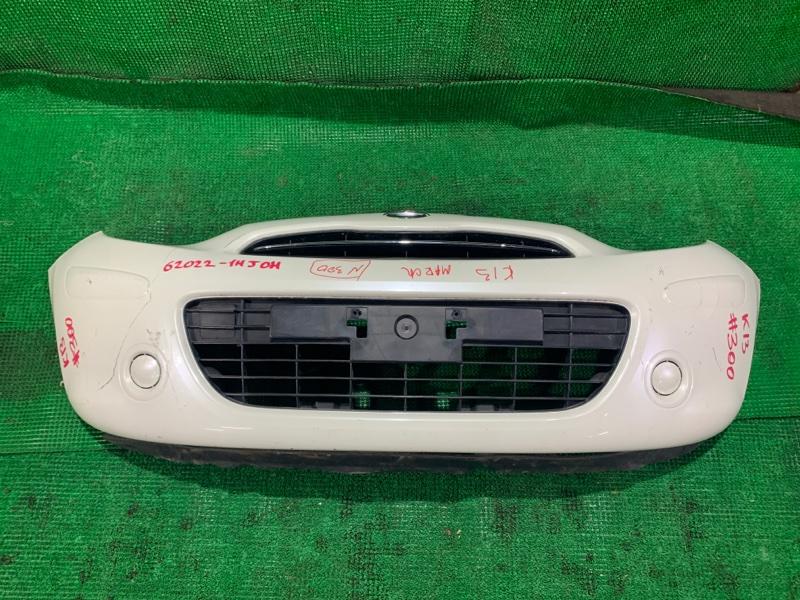 Бампер Nissan March K13 HR12 передний (б/у)