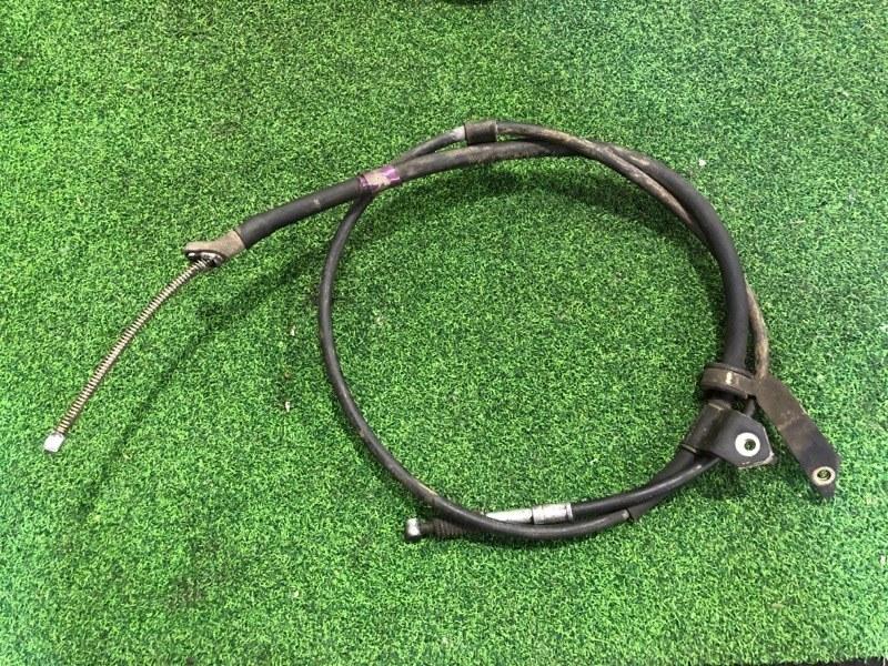 Тросик ручника Toyota Allex NZE124 задний правый (б/у)