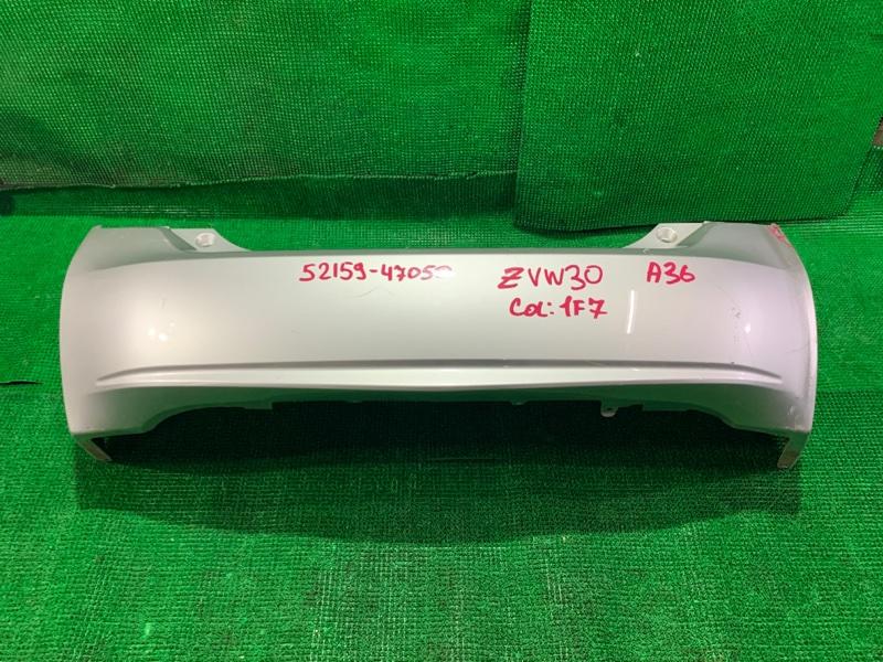 Бампер Toyota Prius ZVW30 2ZR-FXE 2009 задний (б/у)