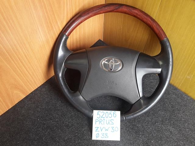Руль Toyota Prius ZVW30 2ZR-FXE 2009 (б/у)