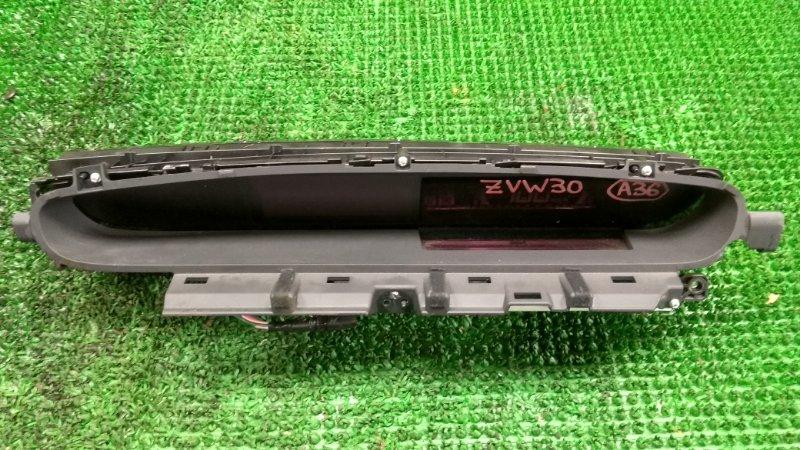 Спидометр Toyota Prius ZVW30 2ZR-FXE 2009 (б/у)