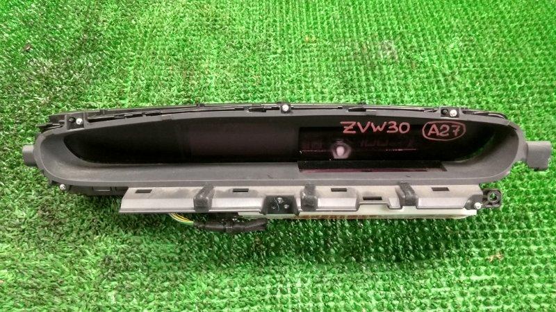 Спидометр Toyota Prius ZVW30 2ZR-FXE 12.2009 (б/у)